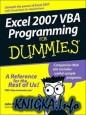 Excel 2007 VBA Programming For Dummies (+Source Code)