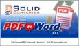Solid Converter PDF - конвертация PDF в Word (и обратно)
