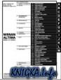 Nissan Altima model L31 Series. Electronic Service Manual.