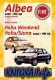Fiat Albea, Palio Weekend, Palio, Siena. Руководство по ремонту и эксплуатации